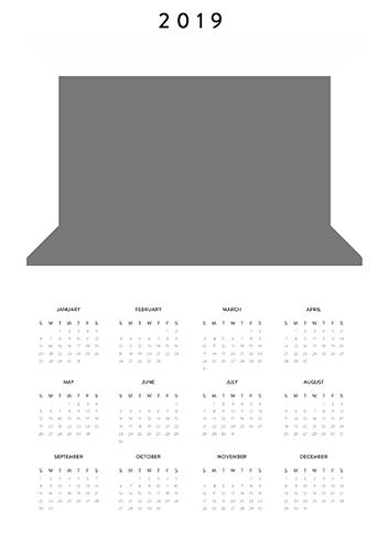 Create Your Own Calendar 2019 Free Free Custom Printable Calendar 2019. Make Your Own Photo Calendar Free