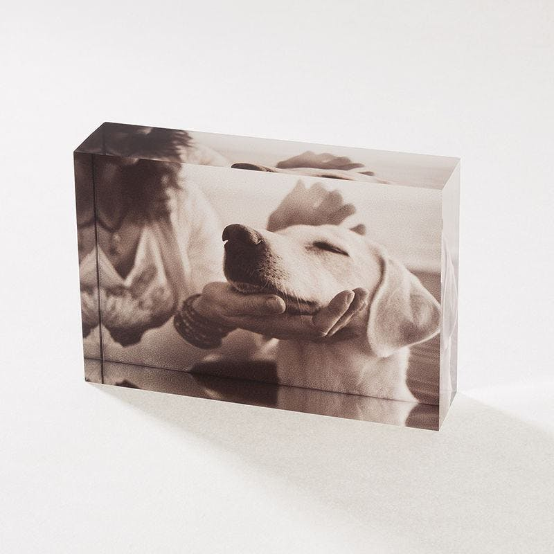 acyrlic photo blocks