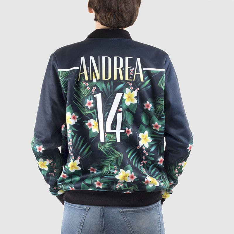 personalised gift drop-shippers bomber jacket