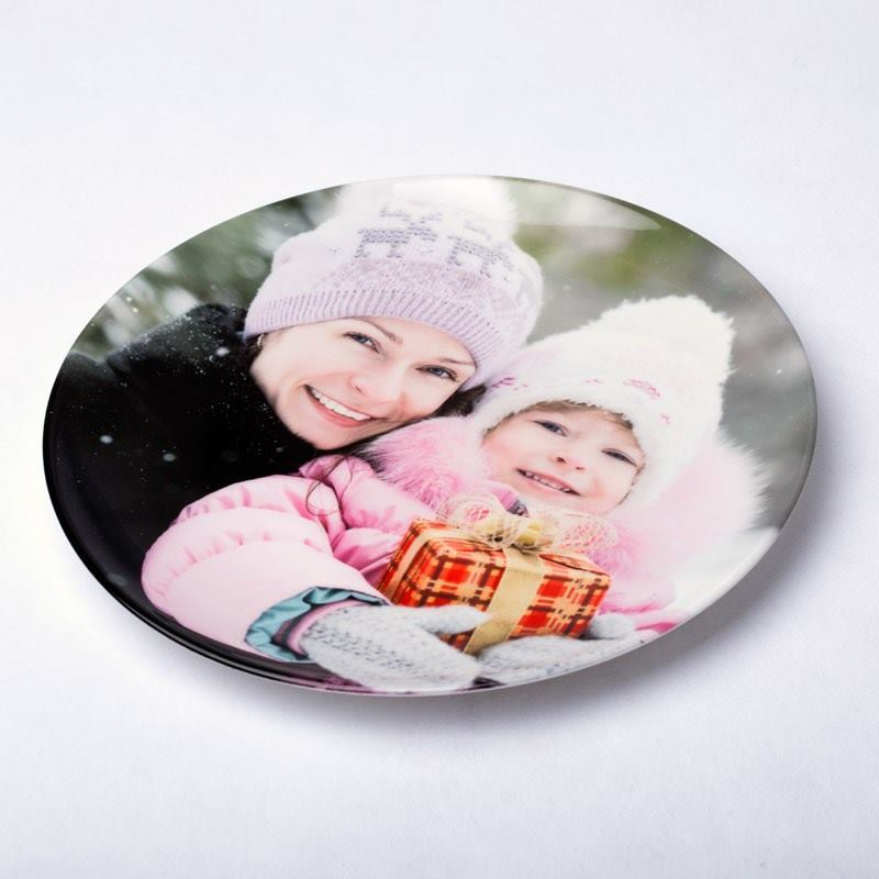 Personalized Photo Plate Design Your Own Plate With Photos