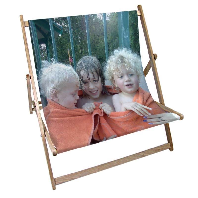 Custom Double Deckchair Personalized Double Deckchair With Photos