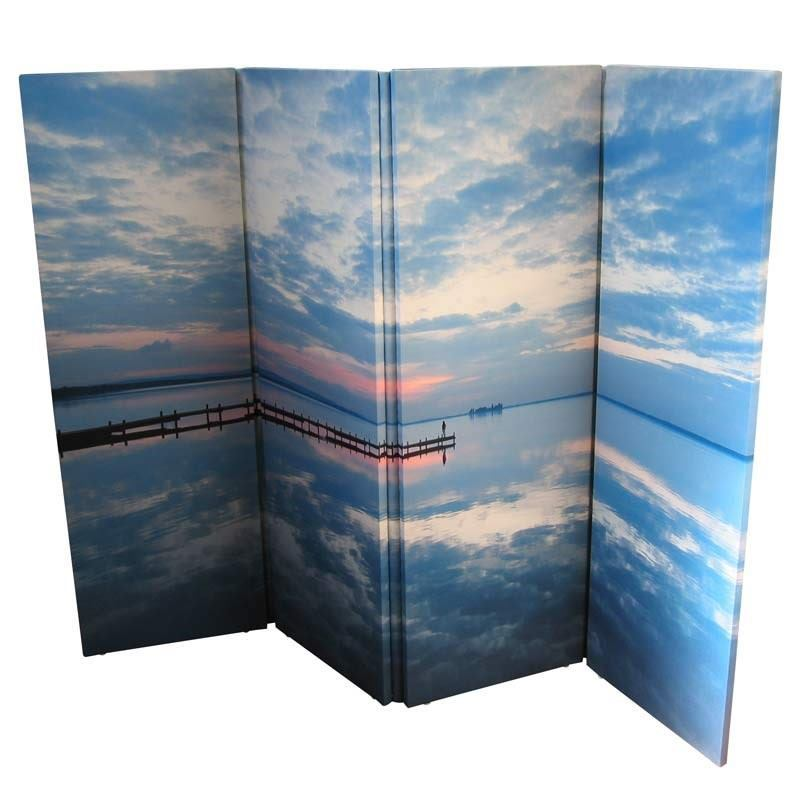 Custom Photo Room Divider Personalized Folding Screens With Photos