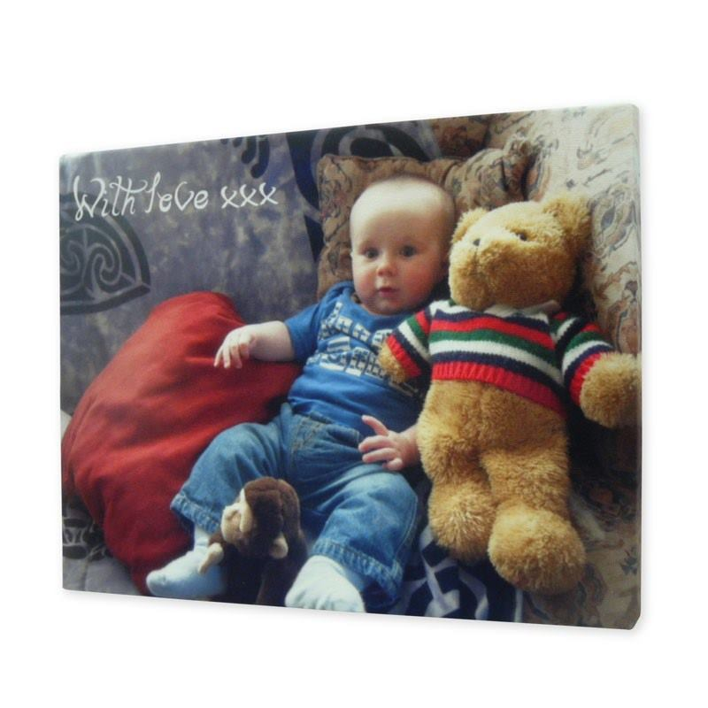 canvas prints with text custom message printed on canvases