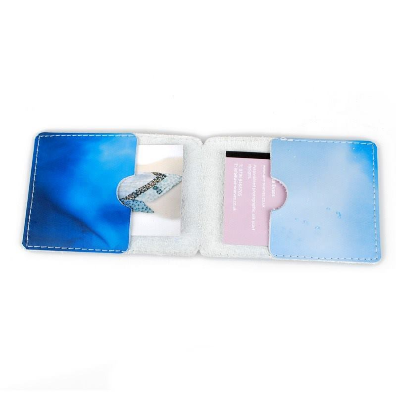 Custom Leather Business Card Holder Personalized Business